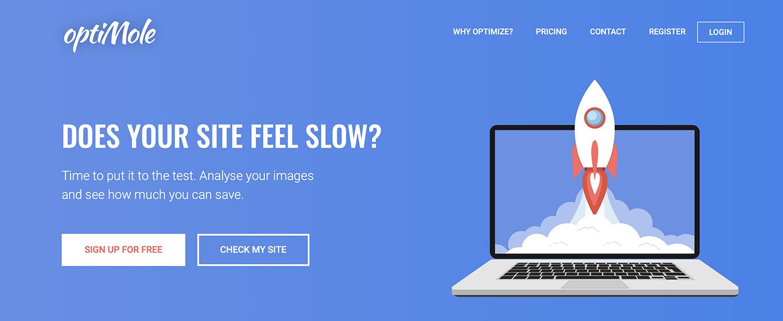 βελτίωσε τις φωτογραφίες της σελίδας σου - optimole